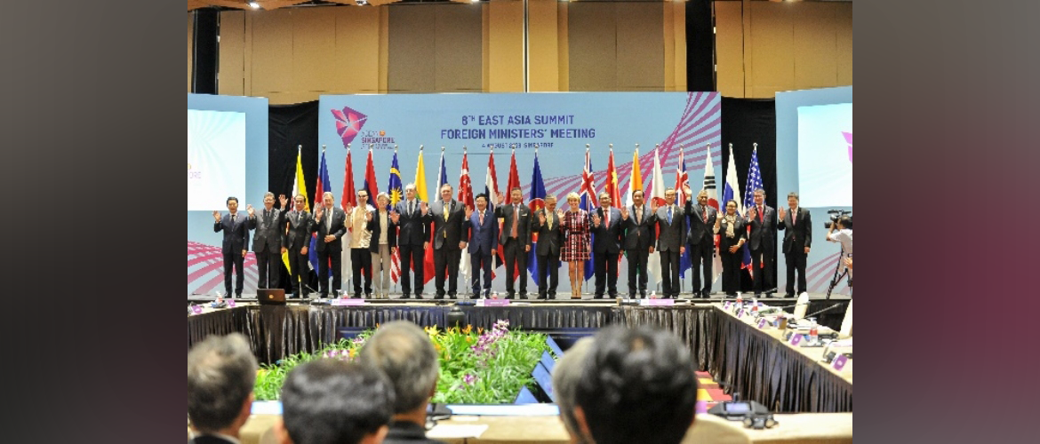 EAS Foreign Ministers' Meeting, 4 August 2018, Singapore