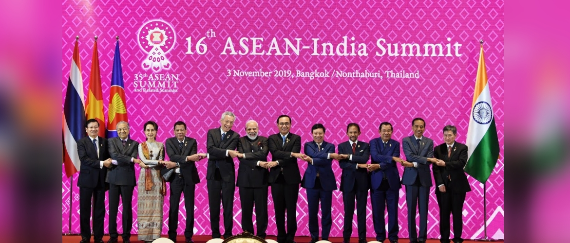 """16th ASEAN-India Summit, 3 November 2019, Bangkok/Nonthaburi, Thailand"""